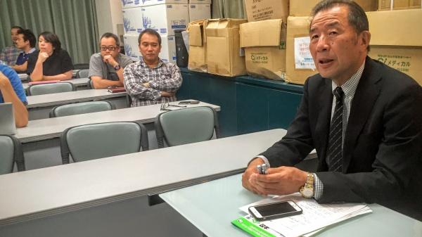 座長は最高顧問の添島正和先生でした