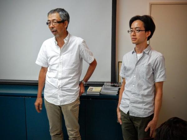 川嵜俊明会長に紹介される江藤崇文先生