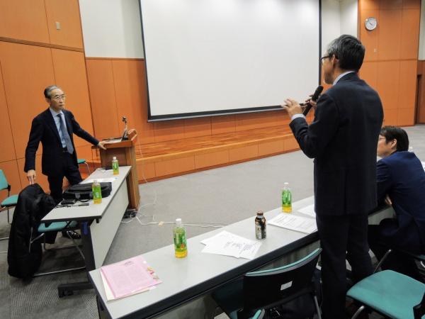会長の川崎俊明からも質問させていただきました。