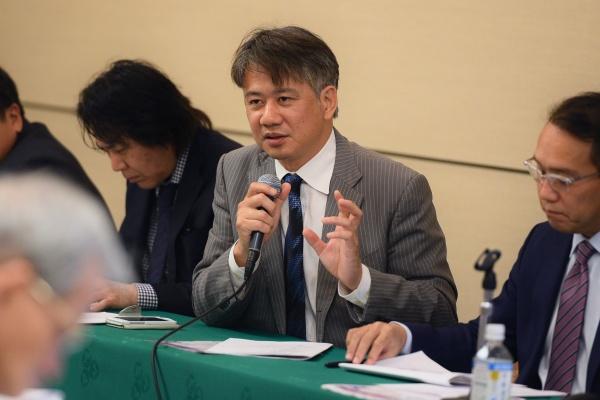 議長には三村彰吾副支部長が選出されました