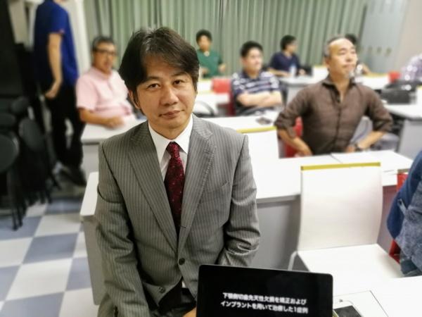 第一症例の発表者は三村彰吾先生(副会長)です
