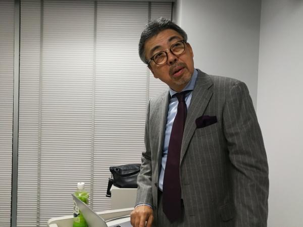 川嵜俊明顧問(前会長)には1時間たっぷり使って講演していただきました