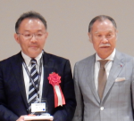 山口文誉先生と山﨑長郎先生