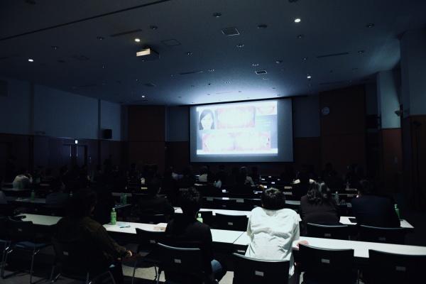 会場には100名を超える会員、臨床家が集まりました