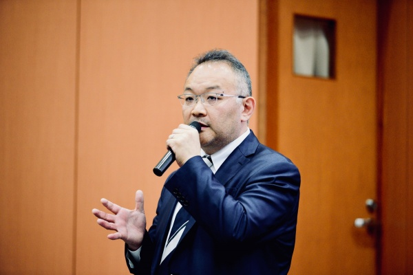 午後は横浜市ご開業の山口文誉先生に40分間のご講演をいただきました。