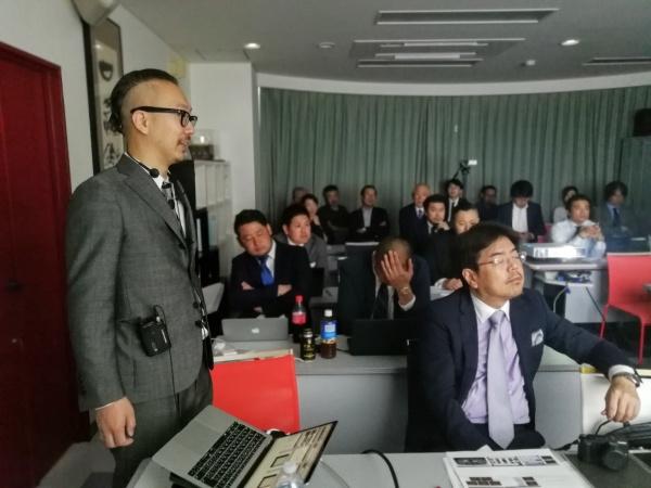 会員発表は平島将臣先生からスタート