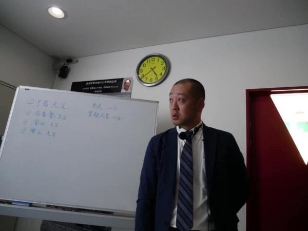 3人目は豊田正仰先生です。