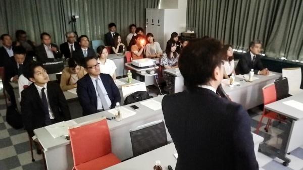 会場には会員スタッフも含め26名が詰めかけました